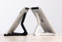 Wholesale Tablet Stand Desktop Stand Portable Fold Up Stand for Apple iPad air Galaxy Tab