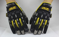 Wholesale Mechanix Wear M PACT gloves Mechanic Gles Work Gloves Safety Gloves Wear M Pact Outdoor Sport Full Gloves Airsoft color