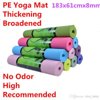 Wholesale Eco friendly Tpe mm Lengthen Yoga Mat Slip resistant Yoga Mat Thickening Broadened Yoga Mat Sport Equipments For Home