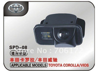 Wholesale newest waterproof car rear view camera special car camera reverse backup rearview for TOYOTA COROLLA VIOS