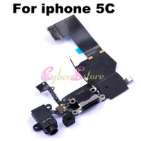 Wholesale For iphone C High Quality Dock Connector Charging Charger Port Flex Cable Ribbon Replacement For iphone C