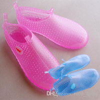 beach snorkeling - PVC Material Good quality Beach Shoes Swim Fishing Snorkeling Sandals Water Skiing Wading shoes Crystal Slipper