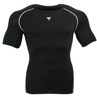 Jackets Men Polyester Wholesale Short-sleeve T-shirt perspicuousness quick dry clothing sports training suit fitness clothing outside sport tights d4