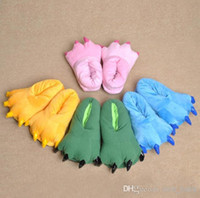 Wholesale New Arrivals Variety Of Animal Paw Shoes That Equiped For Animal Pajamas Stitch Cow Rilakkuma Slippers For Home Use