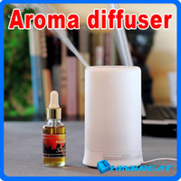 Wholesale New Ultrasonic ML Air Humidifier Purifier Lonizer Warm White Aroma Diffuser Mist Maker for Home with Health Care