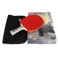 Wholesale original DHS STARS shake hands grip double Happiness sports Table Tennis Rackets