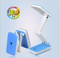 Wholesale 24 LED Foldable Mobile Phone Form Table Lamp for Study Reading Office