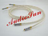 HiFi audio tube amplifiers - Pair Liton N Silver Audio RCA Cable m Tube Amplifier Mixer