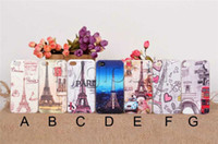 Wholesale Fashion Painted Eiffel Tower Design Case for iphone G S