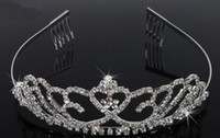 Cheap Tiaras&Crowns Crystal Crown Best Rhinestone/Crystal  Bridal crown