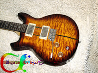 Wholesale New Arrival Custom Shop SANTANA Electric Guitar Left Handed Guitar Sunburst