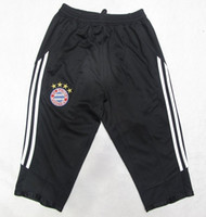 Wholesale 2013 FC Bayern Formotion Training Pants Black Mens Soccer Pants High Quality New Style Football Club Soccer Trousers Football Wears