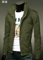 Wholesale 2014 Fashion New men jackets Korean slim fit casual plus size upper garments outwear street style men s clothing mens clothes jacket