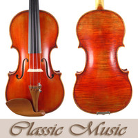 Wholesale Top Hand Oil Varnish The Red Mendelssohn Violin ca Stradivarius Warm Sound Handmade Antique Violin beatiful Maple