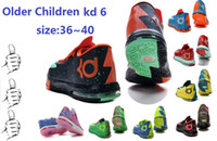 Wholesale 2014 New Arrival Brand Kevin Durant KD V Low Kids Women Older Children High Quality Basketball Sports Shoes