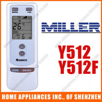 Wholesale Replacement For MILLER GREE Split amp Portable Air Conditioner Remote Control Replacement Y512 Y512F