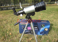Wholesale Telescopes Astronomic Top Quality x Zoom Hd Outdoor Monocular Space Astronomical Telescope with Portable Tripod Spotting Model f30070m