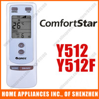 Wholesale Replacement For Comfortstar GREE Split amp Portable Air Conditioner Remote Control Replacement Y512 Y512F
