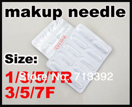 Wholesale 100pcs One Size Permanent Makeup Tips Eyebrows Lip Makeup Machine Tip R3 F