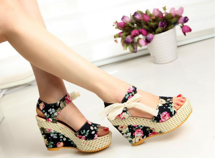 Hot Sale Summer Wedges Sandals Female Shoes Women Platform Shoes ...