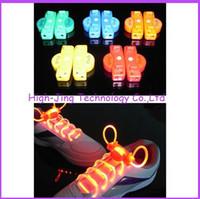 Wholesale 2nd Gen Fiber Optic LED Shoe laces round shoelaces neon led strong light flashing shoelace colors