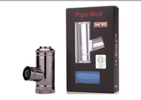 Cheap E-Pipe Mechanical Mod 510 connection Electronic Cigarette Mechanical Mod compatible with 18350 Batteries