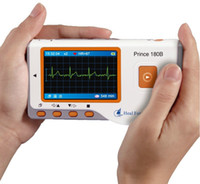 Wholesale PRINCE B Handheld Easy ECG EKG Portable Heart Monitor Software USB oximeter probe ox