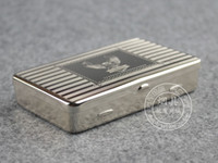 Wholesale Silver Tobacco Box Humidor Storage Solution for Fresh Herbs Rolling Tobacco Medicine Container Many Designs