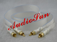 Cable audio snakes - One pieces Nordost RCA audio cable with diy King Snake plugs interconnect cable m