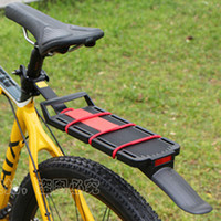 Wholesale 2014 top fasion hot sale bike racks mtb disc brake quick release rear rack bicycle fender reflector with tailstock
