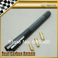 Wholesale Mazdaspeed Carbon Short Aerial Car Antenna Matt Back CM quot M3 M6 RX7 RX8 FC3S FD3S