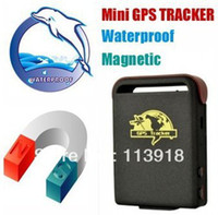 GPS Tracker 64mm x 46mm x 17mm (1.8''*2.5''*0.65'') TK102 Free Shipping!Drop Shipping! TK102B TK102 GPS102 Global Real Time 4 Bands Personal GPS Tracker for person, car, pet