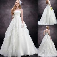 Cheap A-Line Grecian Wedding Dresses Best Reference Images Strapless Garden wedding dresses