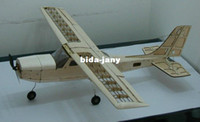 Wholesale Cessna Wood RC Airplane Kit Frame withtout Cover