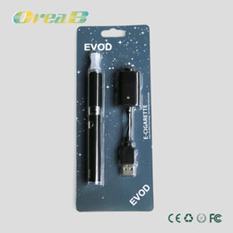 Wholesale high quality Ego EVOD Blister Packing Electronic Cigarette mah mah mah with MTB atomizer battery and charger DHL