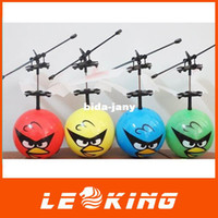 Wholesale Bird Infrared Induction Bird RC Helicopter Magic Romote Toy Floating UFO Shatterproof CH