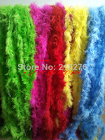 Wholesale 80 Marabou Feather Boa Feather Strip for Party Festival Wedding Decoration slot