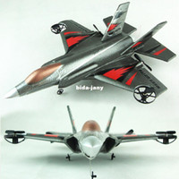 Airplanes Electric 2 Channel 4CH electric Radio Control airplaneF35 fighter EPP material rc glider Free shipping
