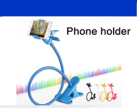 Wholesale Mobile phone holder Fixed Bracket Avoid Taking Fixed Phones Fixed Bracket Of The Head Of A Bed Lazy People Support For Iphone4S