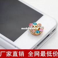 Wholesale Cell Accessories New arrival small push button mobile phone dust plug c49 factory price