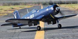 Wholesale F4U EPO mm KIT r c airplane Electric servo less retract landing gear