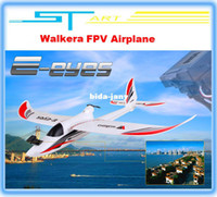 Airplanes Electric 2 Channel Walkera E-eyes FPV PNP RC airplane glider planes with brushless motor radio control airplane remote control toys Free shipping