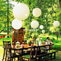 Paper,PVC bamboo paper lanterns - Outdoor Hanging Paper Lanterns Wedding Cage Paper Wedding Party Decoration Paper Lantern