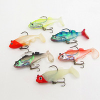 Soft Baits Yes Multi Free Shipping 8.5g 10g 17g Lead Fish Plastic Lure Artificial Soft Lures bait for fishing bass Mandarin Pomfret