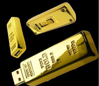 Wholesale good quality creative gifts of gold gold simulation usb flash drive pendrive memory disk GB GB GB GB