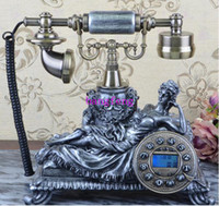 Wholesale 2014 New European Style Sleeping Beauty Fair Lady Retro Antique Telephone
