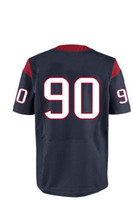 Football Men Short Free Shipping #90 Clowney Blue 2014 Cheap Price American Football Jerseys Elite Rugby Stitched Authentic On Field Game Limited Jersey