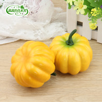 Wholesale Quality pumpkin foam fake vegetables pumpkin props furniture home decoration props