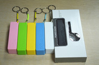 Wholesale Perfume mAh Portable Mini USB External Mobile Power Bank Battery For iPhone C S S Galaxy S4 Colors