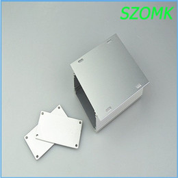Wholesale Aluminum enclosure box piece top sales powder coating aluminum cabinet silvery mm inch